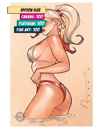HARLEY QUINN: UNSIGHTLY TAN LINES