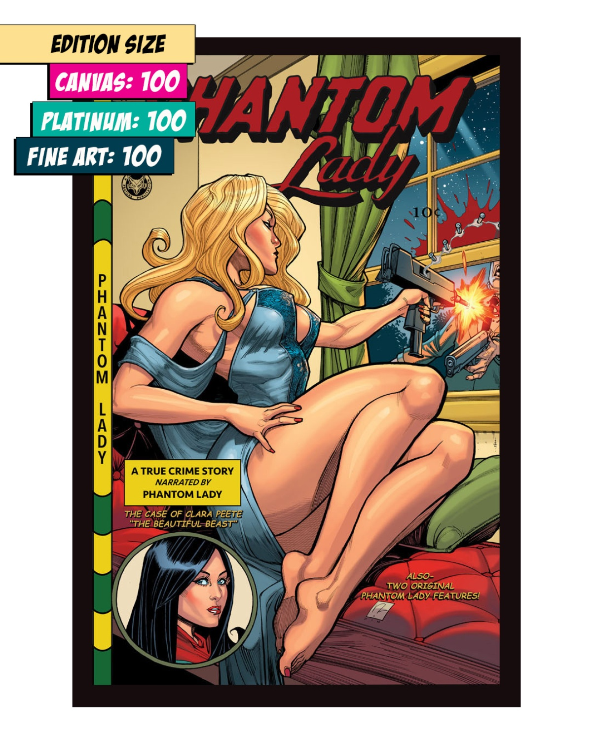 PHANTOM LADY 16: THE BEASTLY BOMBSHELL