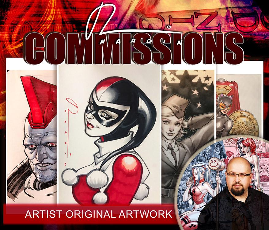 Samples of Commission Artwork